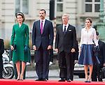 Visite officielle de Felipe & Letizia d'Espagne en Belgique