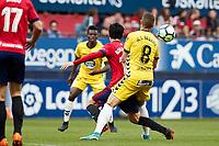 Borja Lasso (medium; CA Osasuna) during the Spanish <br /> la League soccer match between CA Osasuna and CD Lugo at Sadar stadium, in Pamplona, Spain, on Saturday, <br /> April 28, 2018.