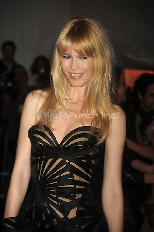 Claudia Schiffer at 'The Model as Muse: Embodying Fashion' Costume Institute Gala at The Metropolitan Museum of Art in New York City. May 4, 2009. Credit: Dennis Van Tine/MediaPunch