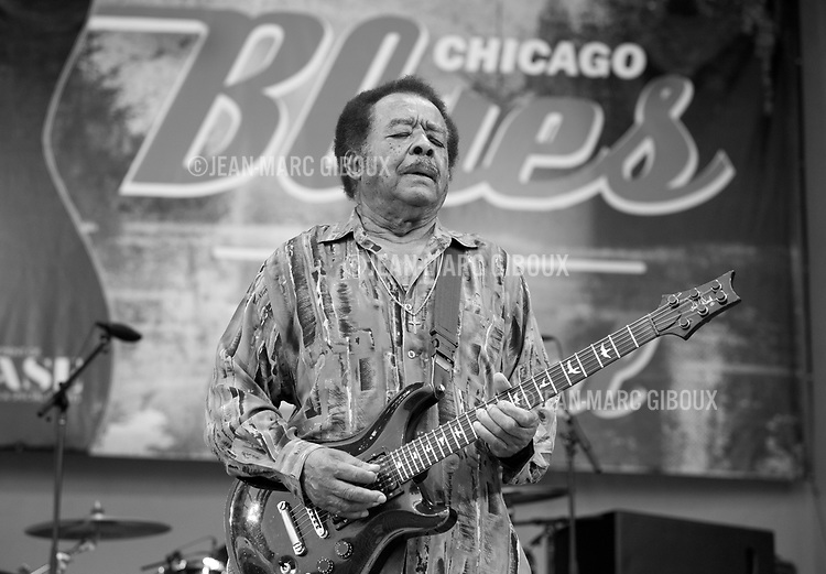 CHICAGO, june 9, 2013 : Final night of Chicago Blues Festival with a Chicago Blues All-Star lineup : Jimmy Burns, Jimmy Johnson, Billy Branch, James Cotton, Eddy &quot;The Chief&quot; Clearwater, Lil' Ed, John Primer, Deitra Farr, Demetria Taylor, Matt SKoller, Billy Flynn.<br />