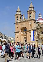 Kirche in Marsaxlokk, Malta, Europa