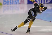 SCHAATSEN: HEERENVEEN: IJsstadion Thialf, 17-11-2012, Essent ISU World Cup, Season 2012-2013, Men 1st 500 meter Division A, Ryohei Haga (JPN), ©foto Martin de Jong