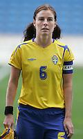 MAR 15, 2006: Faro, Portugal:  Malin Mostrom