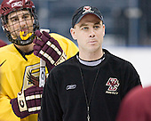 (Peter Harrold) Mike Cavanaugh - The Boston College Eagles took their morning skate on Saturday, April 8, 2006, at the Bradley Center in Milwaukee, Wisconsin to prepare for the 2006 Frozen Four Final game versus the University of Wisconsin.
