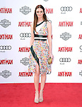 "Lydia Hearst attends The Premiere Of Marvel's ""Ant-Man"" held at The Dolby Theatre  in Hollywood, California on June 29,2015                                                                               © 2015 Hollywood Press Agency"