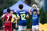 Kwok Ming Cheung of Rangers (R) in action during the Premier League, week two match between Kwoon Chung Southern and BC Rangers at on September 09, 2017 in Hong Kong, China. Photo by Marcio Rodrigo Machado / Power Sport Images
