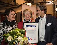 Rotterdam, Netherlands, December 15, 2016, Topsportcentrum, Lotto NK Tennis,  Marja Bongers <br /> Photo: Tennisimages/Henk Koster