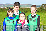 REPERSENTING: representing Lios Tuathail Athlitic Club in the Kerry AAI uneven Cross Country on Sunday in Kilmoyley : Front row l-r: Jermey Lynch, Aaron and Ciaran Pierse, Kieran Lynch, Daniel Sheehan and Jaic Mc Kenna.. 2nd row l-r: Ciara Donegan, Niamh Cullen, Sophie Lynch, Marian O'Neill, Colette Foley and Orlaith Cullen. Back row l-r: Brendaa Foley, Rebecca Lynch, Siobhan Donegan and Muireann McKenna....... ..............................   Copyright Kerry's Eye 2008