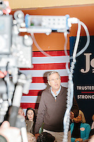 Republican presidential candidate and former Florida governor Jeb Bush speaks at a town hall in Souhegan High School in Amherst, New Hampshire.