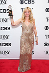 NEW YORK, NY - JUNE 10:  Sonia Friedman, winner of the award for Best Play for 'Harry Potter and the Cursed Child, Parts One and Two,' poses in the 72nd Annual Tony Awards Press Room at 3 West Club on June 10, 2018 in New York City.  (Photo by Walter McBride/WireImage)