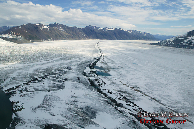 Aerial Glacier & Mountain Scenic