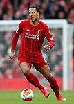 Virgil van Dijk of Liverpool during the Premier League match at Anfield, Liverpool. Picture date: 7th March 2020. Picture credit should read: Darren Staples/Sportimage