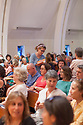 """Anne Lamott discusses her new book """"Hallelujah Anyway"""" at Montclair Presbyterian Church in Oakland, California. Local bookstore A Great Good Place for Books hosted the event Tuesday May 2, 2017."""