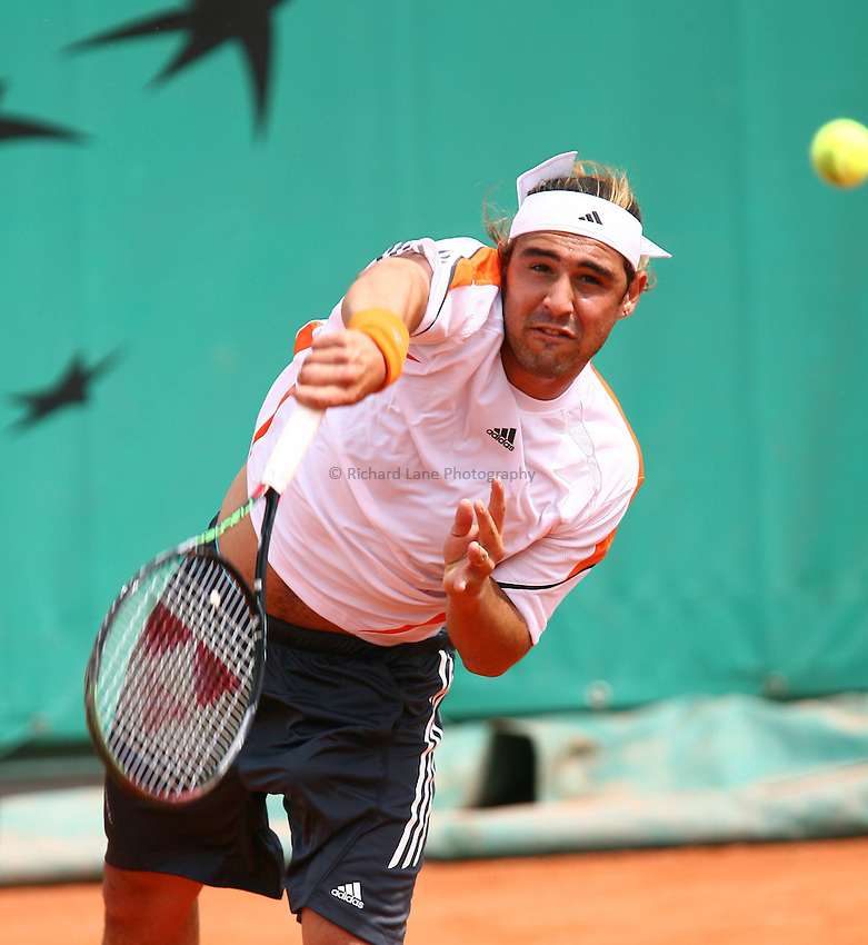 Photo: Iconsport/Richard Lane Photography..Roland Garros 2006..01/06/2006. .Marcos Baghdatis.