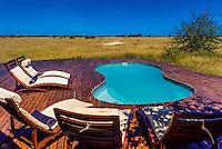 Nxai Pan Camp, Nxai Pan National Park, Botswana.