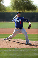 Jacob Rhame - Los Angeles Dodgers 2016 spring training (Bill Mitchell)