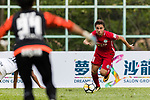 Torres Sartori Igor (R) of Wofoo Tai Po in action during the Dreams FC vs Wofoo Tai Po match of the week one Premier League match at the Aberdeen Sports Ground on 26 August 2017 in Hong Kong, China. Photo by Yu Chun Christopher Wong / Power Sport Images