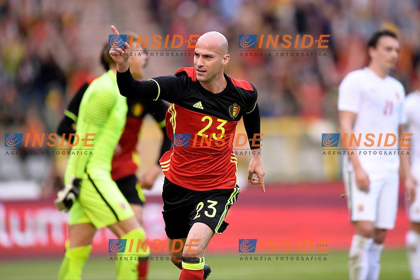 Ciman Laurent defender of Belgium  <br /> Bruxelles 05-06-2016 Calcio Amichevole Belgio Norvegia<br /> Foto Photonews/Panoramic/Insidefoto