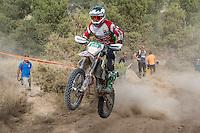 Mexico's Eric Yorba during the first day junior's trophy class of the FIM international six days of enduro 2016 in Navarra, Spain. October 11, 2016. (ALTERPHOTOS/Rodrigo Jimenez) NORTEPHOTO.COM