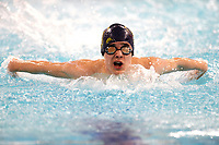 Picture by Richard Blaxall/SWpix.com - 14/04/2018 - Swimming - EFDS National Junior Para Swimming Champs - The Quays, Southampton, England - Owen Garsides of Kingston Hull during the Men's MC 200m Individual Medley