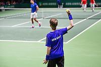 Februari 09, 2015, Netherlands, Rotterdam, Ahoy, ABN AMRO World Tennis Tournament, Nedad Zimonjic (SRB)<br /> Photo: Tennisimages/Henk Koster