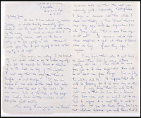 BNPS.co.uk (01202 558833)Pic: C&amp;TAuctions/BNPS<br /> <br /> A letter to Lieutenant James Riccomini MBE's wife Jane.<br /> <br /> The remarkable story of an SAS hero who escaped captivity by jumping out of a moving train and carried out daring raids behind enemy lines before he was killed storming a German stronghold can be told after his bravery medals emerged for sale.<br /> <br /> After escaping his German captors, Lieutenant James Riccomini MBE spent four months assisting Italian resistance fighters with ammunition drops and intelligence gathering before scaling the Alps to reach neutral Switzerland when his cover was blown.<br /> <br /> Ten months later, he was dropped behind enemy lines and led a fearless ambush of a German armoured column before he was killed in action heading up an assault during the legendary Operation Tombola.<br /> <br /> His MBE, Military Cross and other medals along with letters he wrote to his wife, documents and photos are tipped to sell for &pound;12,000.