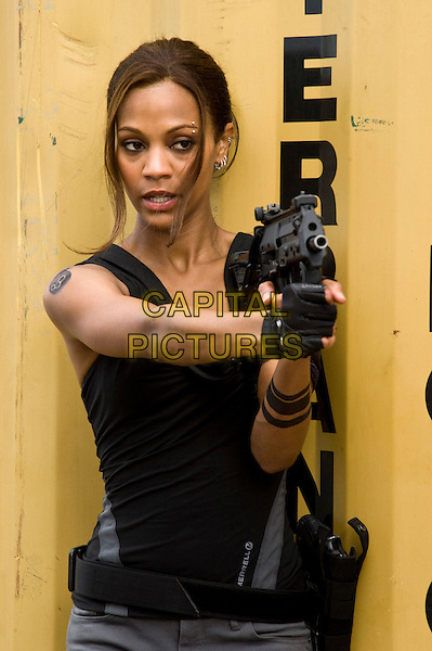 ZOË SALDANA.in The Losers.*Filmstill - Editorial Use Only*.CAP/FB.Supplied by Capital Pictures.
