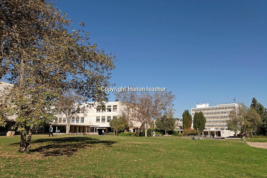 Israel, Jerusalem, The Hebrew University,  Edmond Safra campus in Givat Ram<br />