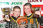 Brothers Adam and Kevin O'Donoghue who won MVP awards for their age groups