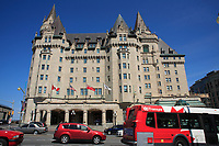 Ottawa (ON) CANADA - Mai 21, 2012 -Chateau Laurier..