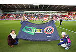 KIO banner on the pitch during the English League One match at the Bramall Lane Stadium, Sheffield. Picture date: November 19th, 2016. Pic Simon Bellis/Sportimage