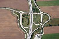 BAB A20 Abfahrt Geschendorf: DEUTSCHLAND, SCHLESWIG HOLSTEIN  31.08.2018: BAB A20 Abfahrt Geschendorf