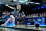 CLAYTON, MO - APRIL 14: Emily Rigney #8 of Vanderbilt University bowls during the Division I Women's Bowling Championship held at Tropicana Lanes on April 14, 2018 in Clayton, Missouri. Vanderbilt University defeated McKendree University 4-3. (Photo by Tim Nwachukwu/NCAA Photos via Getty Images)