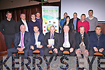 The Ring of Kerry Hotel in Cahersiveen was the venue for the South Kerry GAA Employment Networking Initiative on Thursday night last with all the clubs in the area present pictured here front l-r; Danny Breen, Jack O'Connor, Diarmuid O Se?, Jerome Conway(Chairman County Board), Peter Murphy, Johnny Griffin, back l-r; Jim O'Sullivan, John O'Sullivan, Brian Hickey, Darby Clifford, Declan O'Sullivan, Susan Ni? Laoighre, John Galvin, Mossie O'Sullivan & John Sugrue.