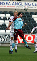 Pictured: Garry Monk of Swansea City<br /> Coca Cola Championship, Swansea City FC v Burnley at the Liberty Stadium, Swansea. Saturday 20 September 2008.