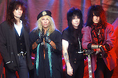 MOTLEY CRUE, 1989, WILLIAM HAMES