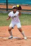 Minori Naito (JPN), <br /> AUGUST 19, 2018 - Softball : Women's Preliminary Round between Japan - Hong Kong at Gelora Bung Karno Softball field during the 2018 Jakarta Palembang Asian Games in Jakarta, Indonesia. <br /> (Photo by MATSUO.K/AFLO SPORT)