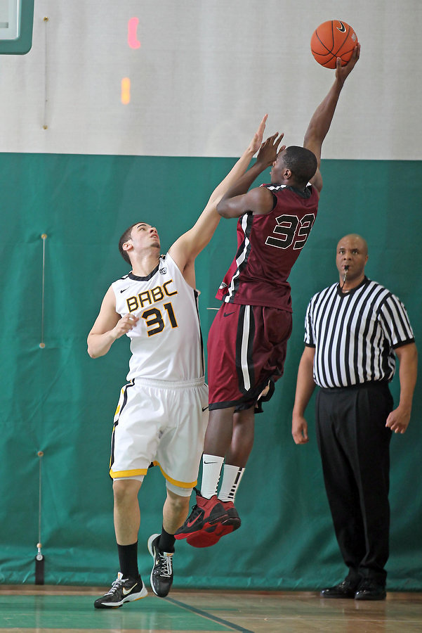 April 8, 2011 - Hampton, VA. USA; George Niang participates in the 2011 Elite Youth Basketball League at the Boo Williams Sports Complex. Photo/Andrew Shurtleff