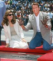 Maria Shriver Arnold Schwarzenegger<br /> 1994<br /> Photo By Michael Ferguson/CelebrityArchaeology.com<br /> <br /> http://CelebrityArchaeology.com