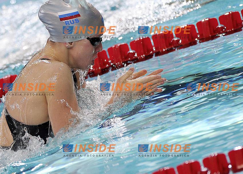 NOVIKOVA Irina RUS.200 Breaststroke Women Heats.XVI European Short Course Swimming Championships.Chartres - FRA France Nov. 22 -25 2012.Day02.Photo A.Masini/Deepbluemedia/Inside