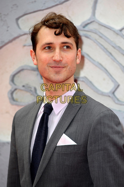 LONDON, ENGLAND - MARCH 30: Ben Lloyd Hughes attends the European premiere of 'Divergent' at Odeon Leicester Square on March 30, 2014 in London, England. <br /> CAP/CJ<br /> &copy;Chris Joseph/Capital Pictures