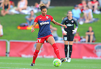Boyds, MD - Saturday July 09, 2016: Estelle Johnson during a regular season National Women's Soccer League (NWSL) match between the Washington Spirit and the Chicago Red Stars at Maureen Hendricks Field, Maryland SoccerPlex.