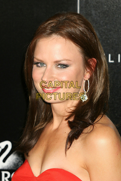 MARY LYNN RAJSKUB.9th Annual Costume Designers Guild Awards Gala at the Regent Beverly Wilshire Hotel, Beverly Hills, California, USA,17 February 2007..portrait headshot red strapless dress .CAP/ADM/BP.©Byron Purvis/AdMedia/Capital Pictures.