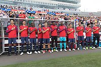 East Hartford, CT - Saturday July 01, 2017: USMNT during an international friendly game between the men's national teams of the United States (USA) and Ghana (GHA) at Pratt & Whitney Stadium.