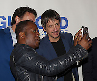 Herbie Moreau take a selfie at the Montreal red Carpet premier of '' Guibord s'en va-t-en guerre<br /> '' latest film by Philippe Falardeau at the Imperial cinema, Monday september 28, 2015,<br /> <br /> Photo :  Pierre Roussel  - Agence Quebec Presse
