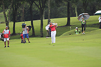 Gavin Green (Asia) on the 8th fairway during the Friday Foursomes of the Eurasia Cup at Glenmarie Golf and Country Club on the 12th January 2018.<br /> Picture:  Thos Caffrey / www.golffile.ie