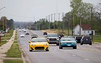 NWA Democrat-Gazette/JASON IVESTER<br /> Traffic moves along Highway 12 Thursday, April 13, 2017, in Bentonville.