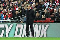 Southampton Manager Claude Puel <br /> Londra Wembley Stadium Southampton vs Manchester United - EFL League Cup Finale - 26/02/2017 <br /> Foto Phcimages/Panoramic/Insidefoto