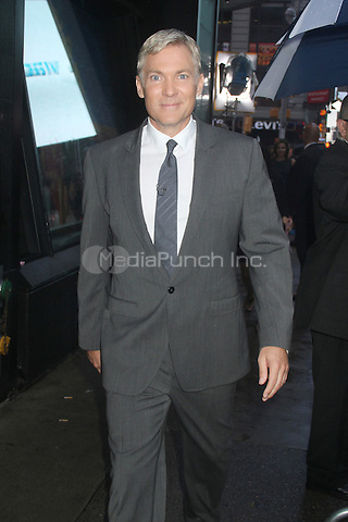 NEW YORK CITY, NY - AUGUST 1, 2012: Sam Champion at ABC studios for an appearance on ABC's Good Moring America. © RW/MediaPunch Inc.