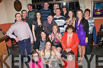 18TH PARTY: Aoife Bradley, Ballymacelligott (seated centre), having a ball with friends and family at her 18th birthday party held in the Halfway House Bar, Ballymac, on Friday night.   Copyright Kerry's Eye 2008
